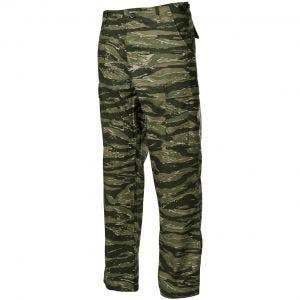 MFH pantaloni BDU da combattimento in Ripstop Tiger Stripe