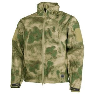 MFH giacca softshell Scorpion in HDT Camo FG
