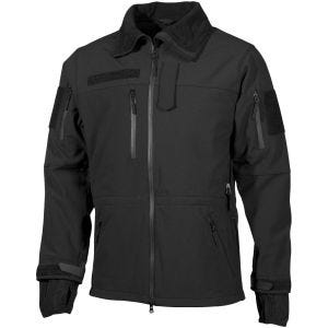 MFH giacca softshell High Defence in nero