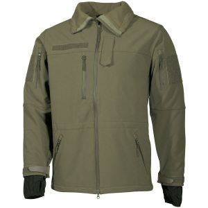 MFH giacca softshell High Defence in OD Green