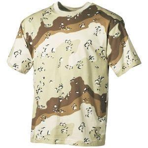 MFH T-shirt in Desert a 6 colori