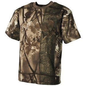 MFH T-Shirt da cacciatore in marrone Hunter