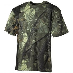MFH T-Shirt da cacciatore in verde Hunter