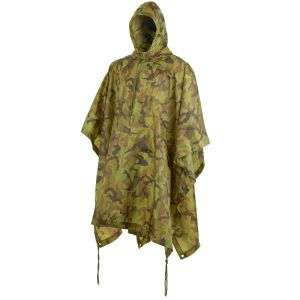 MFH poncho impermeabile in Ripstop Czech Woodland