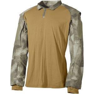 MFH T-shirt US tattica in HDT Camo AU
