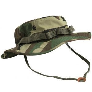 Teesar boonie hat in trilaminato US GI in Woodland