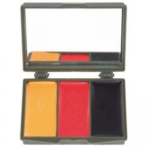Mil-Tec kit trucco mimetico viso 3 colori con specchio in BW Army