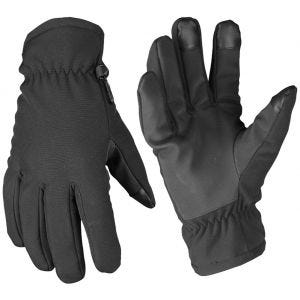 Mil-Tec guanti Softshell Thinsulate in nero