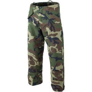 Mil-Tec pantaloni da pioggia in trilaminato Woodland