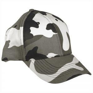 Mil-Tec cappellino da baseball con fascia in plastica in Urban