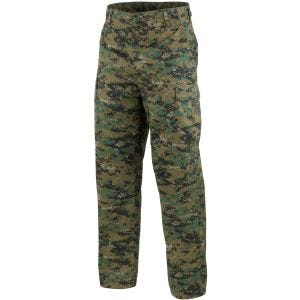 Mil-Tec pantaloni BDU Combat in Digital Woodland