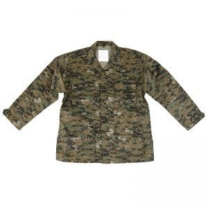 Mil-Tec camicia BDU Combat in Digital Woodland