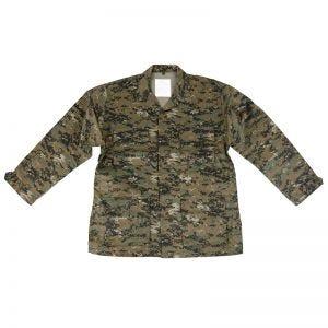 Mil-Tec camicia BDU Combat in Digital Woodland