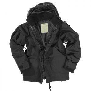 Mil-Tec giacca ECWCS con pile in nero