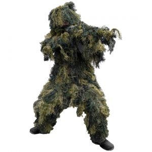 Mil-Tec ghillie mimetica 4 pezzi in Woodland
