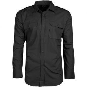 Mil-Tec camicia a maniche lunghe RipStop in nero