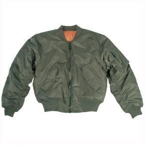 Mil-Tec giacca da pilota MA-1 in verde oliva