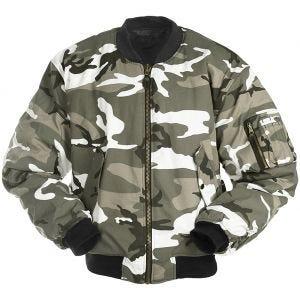Mil-Tec giacca da pilota MA-1 in Urban