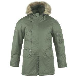 Mil-Tec giacca da pilota N-3B in verde oliva