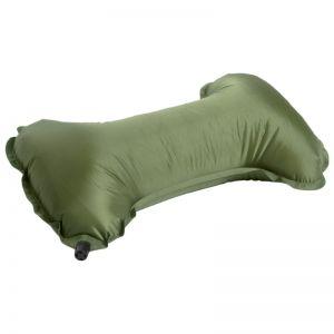 Mil-Tec cuscino per supporto collo autogonfiante in verde oliva