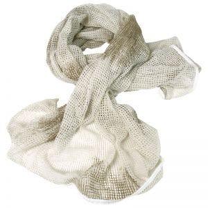 Mil-Tec sciarpa in rete in bianco