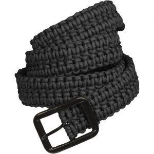 Mil-Tec cintura Paracord in nero