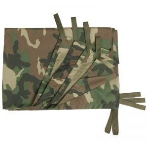 Mil-Tec tela incerata multiuso piana Tarp in Woodland