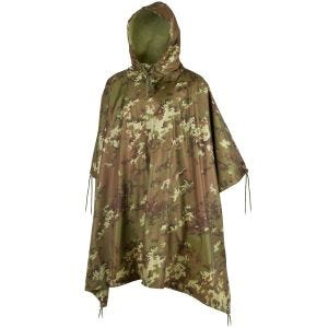 Poncho impermeabile in Ripstop in Vegetato Woodland