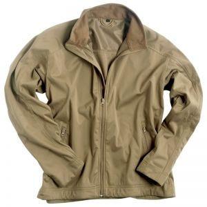 Mil-Tec giacca softshell leggera in Coyote