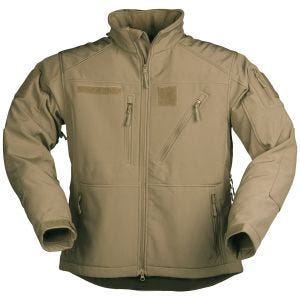 Mil-Tec giacca Softshell SCU 14 in Dark Coyote