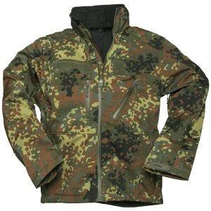 Mil-Tec giacca Softshell SCU 14 in Flecktarn