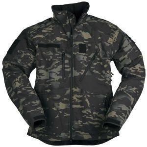 Mil-Tec giacca Softshell SCU 14 in Multitarn Black