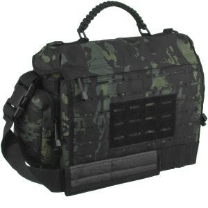Mil-Tec borsa Tactical large in paracord Multitarn Black