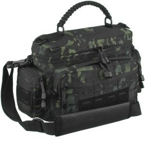 Mil-Tec borsa Tactical small in paracord Multitarn Black