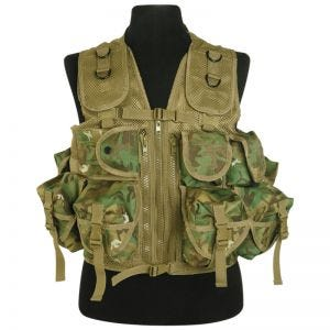 Mil-Tec gilet tattico Ultimate Assault in Arid Woodland