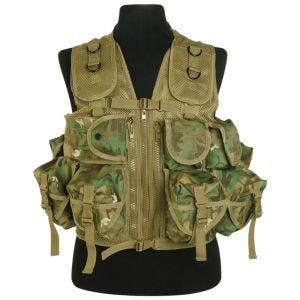 Mil-Tec gilet tattico Ultimate Assault in Arid Woodland