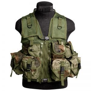Mil-Tec gilet tattico Ultimate Assault in CCE