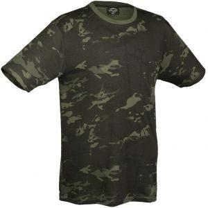 Mil-Tec T-Shirt in Multitarn Black