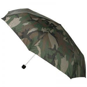 Mil-Tec ombrello pieghevole mini in Woodland