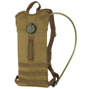 Mil-Tec zaino basic con tasca per idratazione MOLLE in Coyote