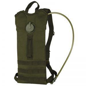 Mil-Tec zaino basic con tasca per idratazione MOLLE in verde oliva