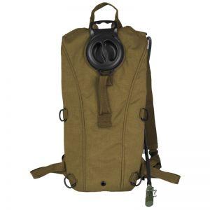 Mil-Tec zaino con tasca per idratazione Mil Spec in Coyote