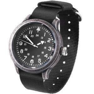 Mil-Tec orologio British Style Army in acciaio inox spento