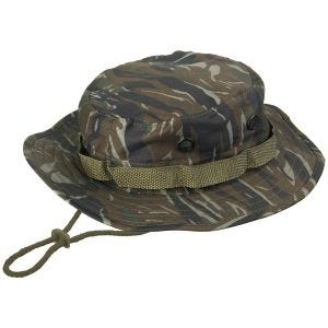 Mil-Tec cappello jungle hat in Tiger Stripe