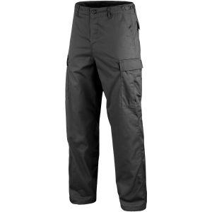 Mil-Tec pantaloni da combattimento Ranger BDU in nero
