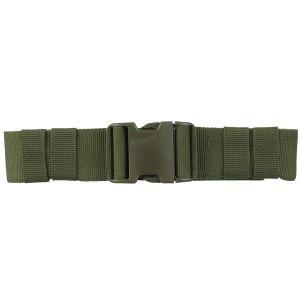 Mil-Tec cintura esercito con fibbia ad incastro 50 mm in verde oliva