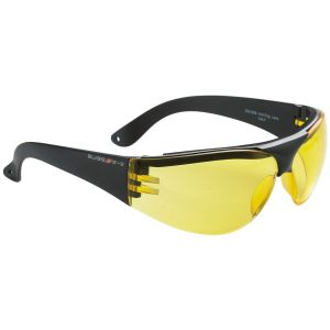 Swiss Eye occhiali protettivi Outbreak con montatura in nero / lenti gialle
