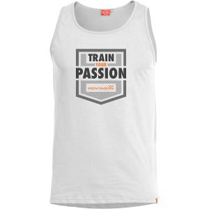Pentagon canotta Astir Train Your Passion in bianco