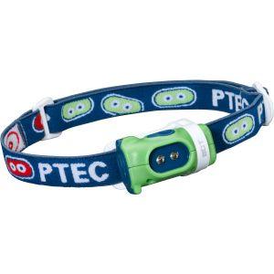 Princeton Tec torcia da testa Bot LED bianco e struttura in verde/blu