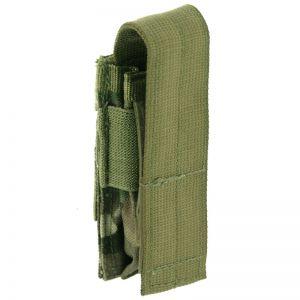 Pro-Force custodia singola portacaricatore per pistola con attacco MOLLE in MultiCam